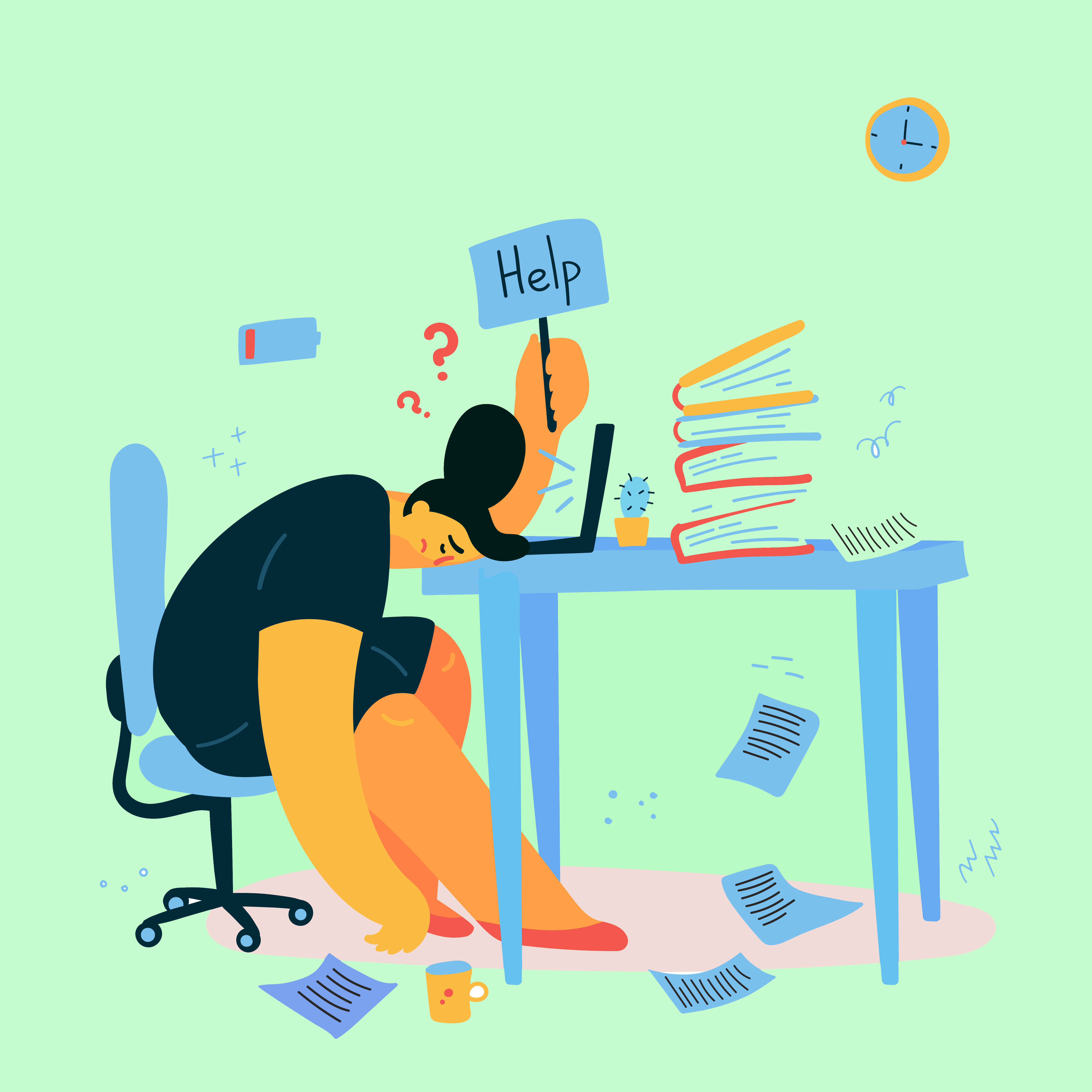 job burnout -therapist