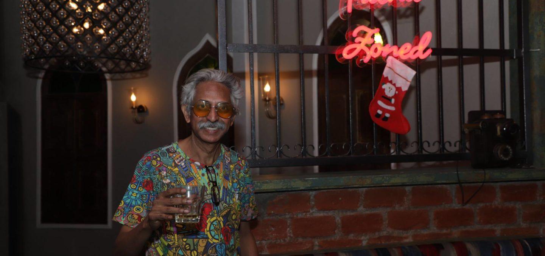 Nightlife reporter Marcellus Baptista
