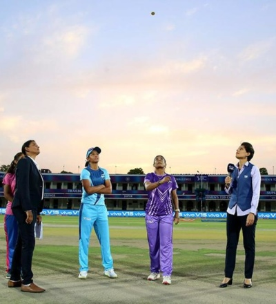 GS Lakshmi officiating a cricket match