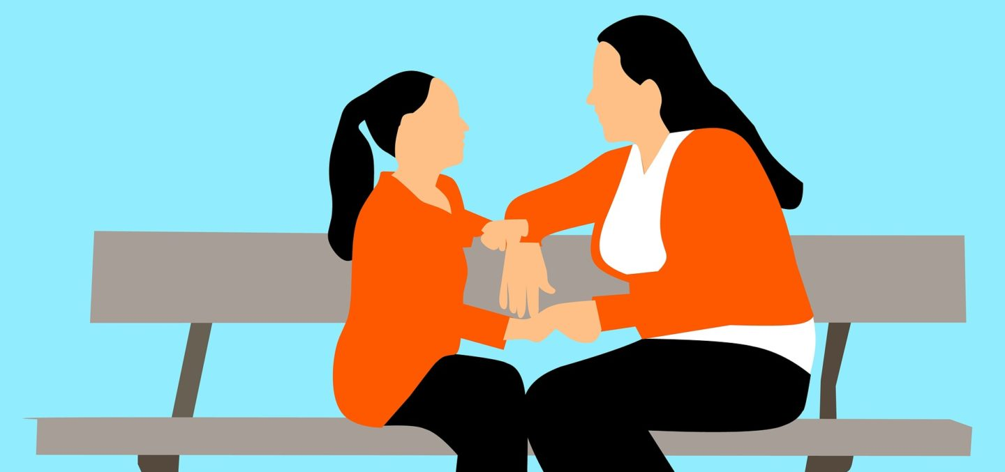 Mother and daughter teachable moments