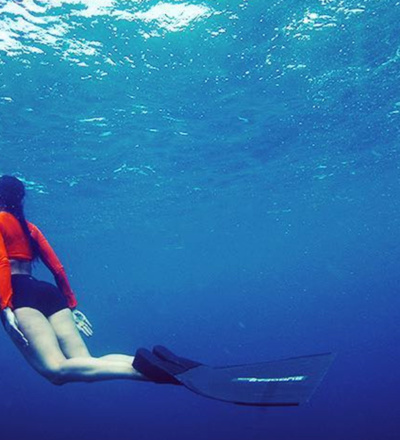 Namrata Purohit's best diving spots