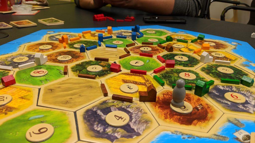 सेटलर्स ऑफ कैटन- सर्वश्रेष्ट बोर्ड गेम