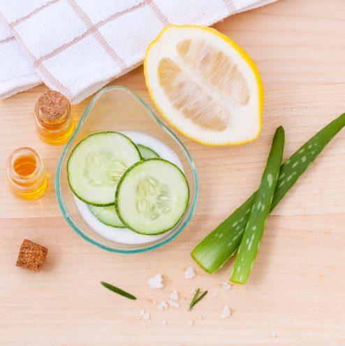 toner diy aloe vera cucumber lemon