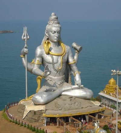 Lord Shiva statue in Murdeshwara
