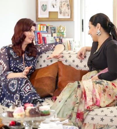 Golden Girls: Twinkle Khanna with Vidya Balan
