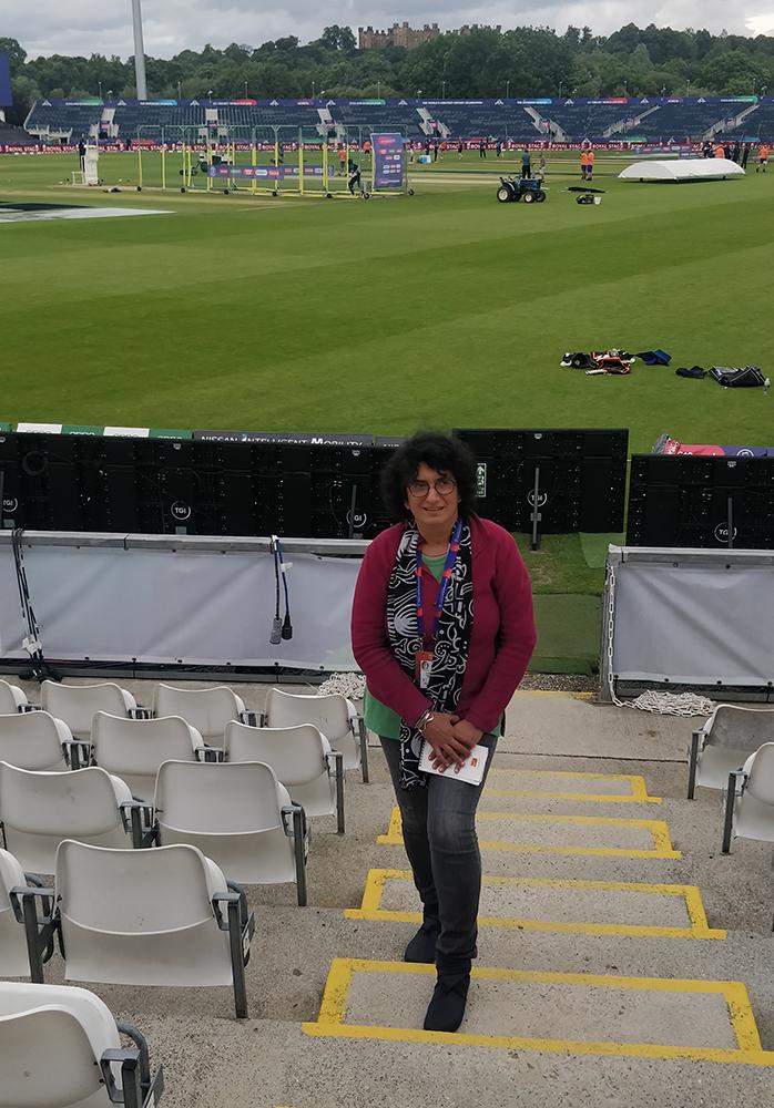 sharda ugra female sports journalist india