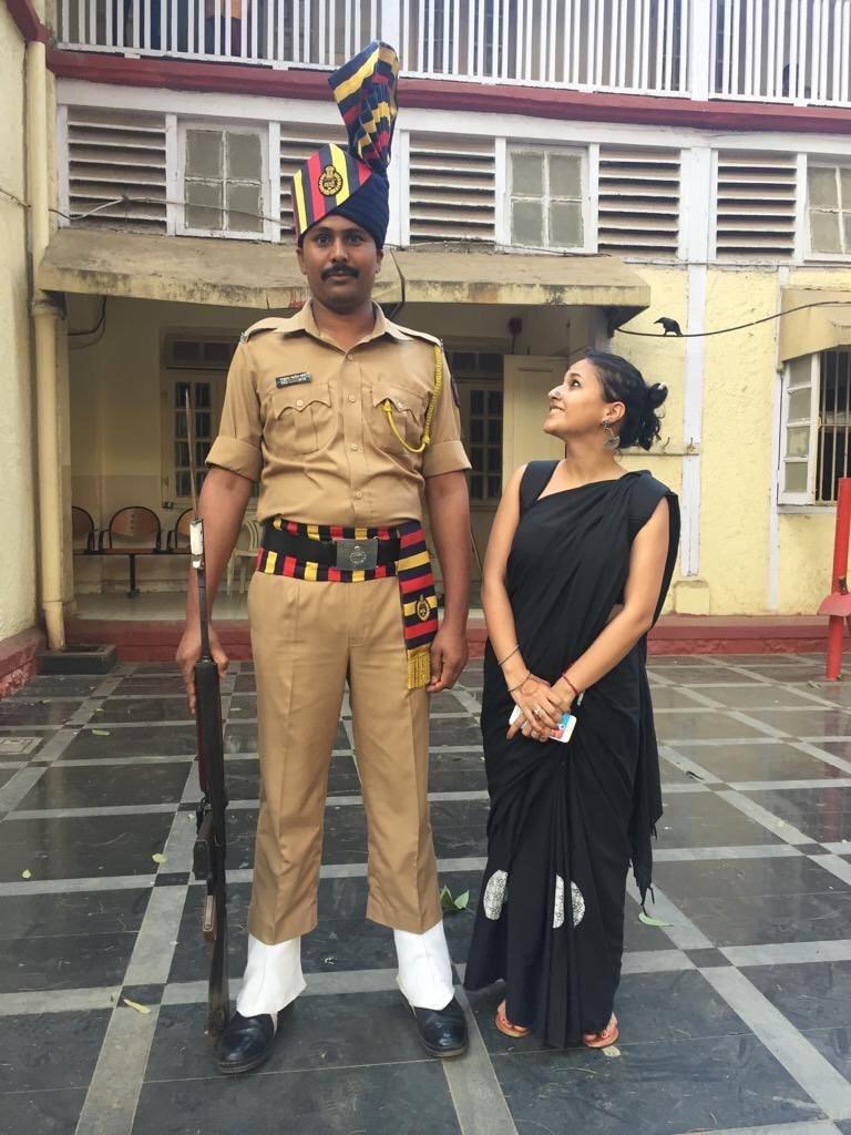 sunchika pandey twitter police