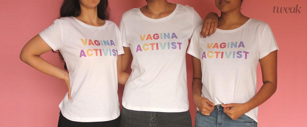 vagina activist tweak india merchandise