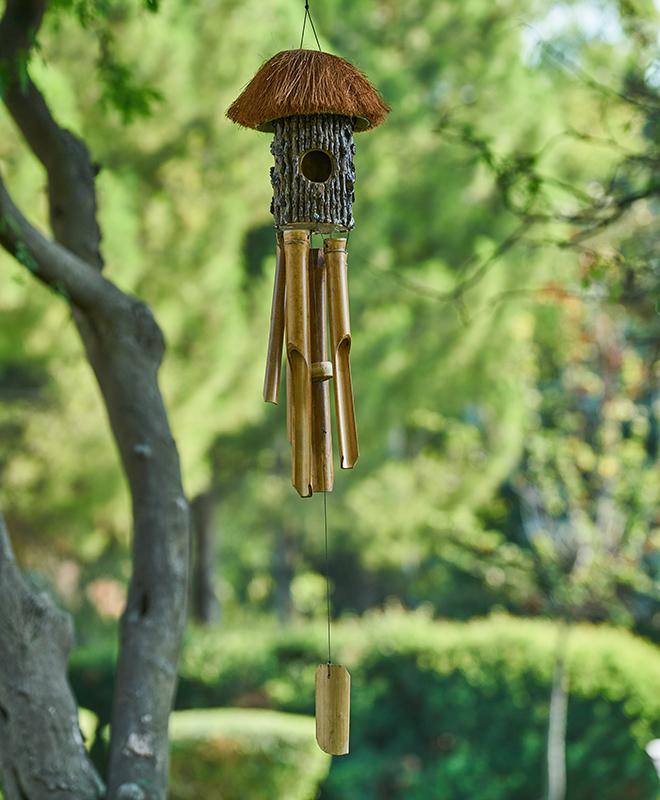 wind chimes garden vastu
