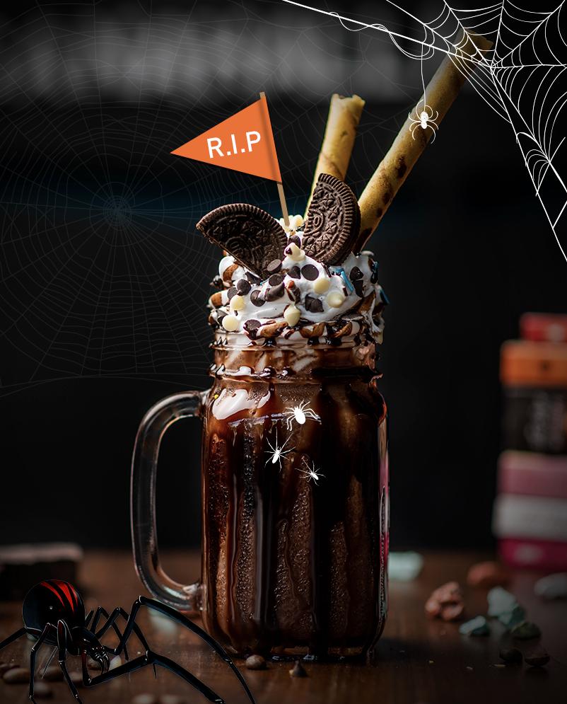 Halloween smoothie
