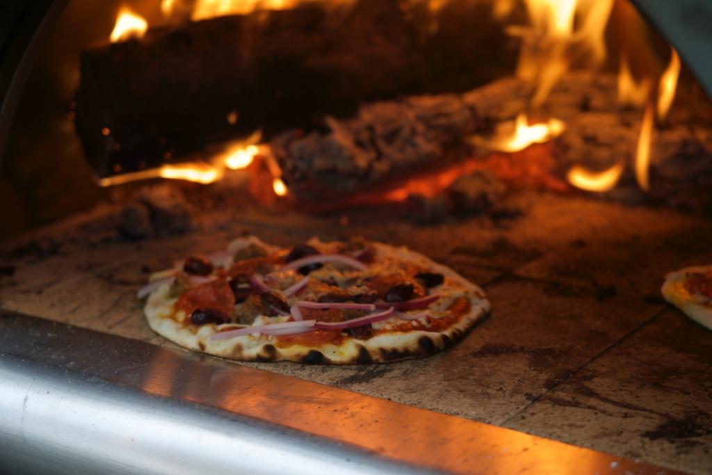 Wood burnt pizza Rahul Akerkar best meals