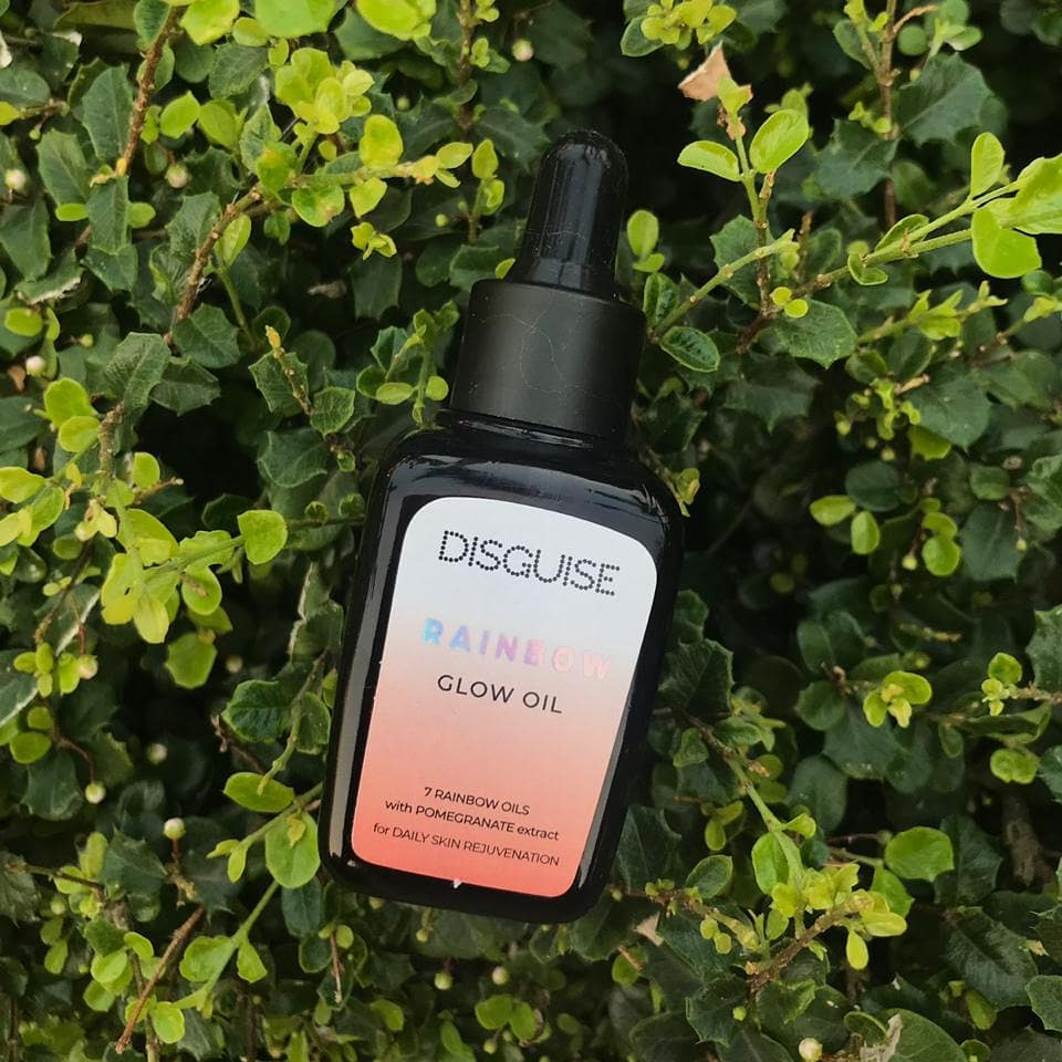 Disguise Cosmetics rainbow glow oil