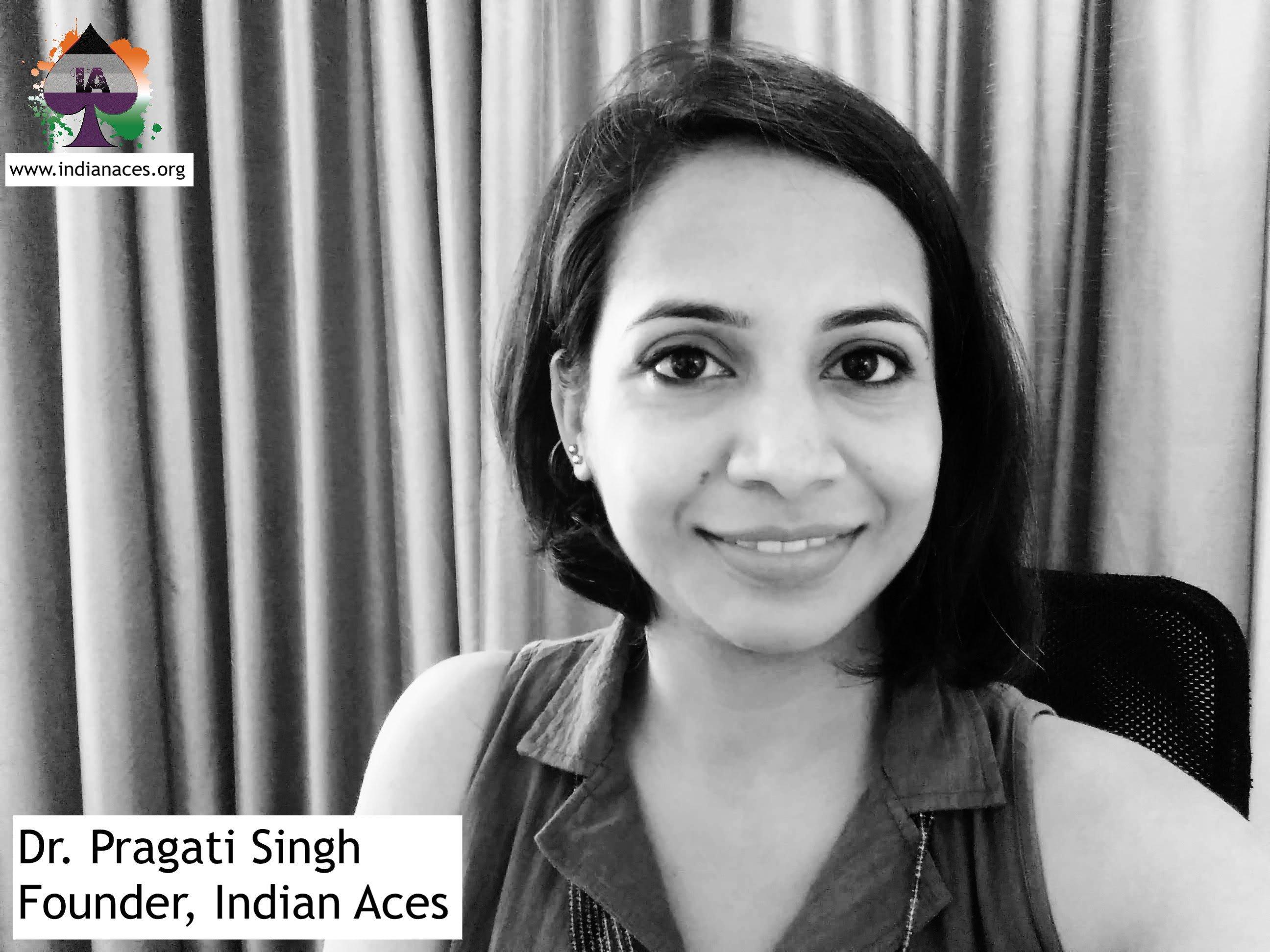 pragati singh indian aces asexual organisation