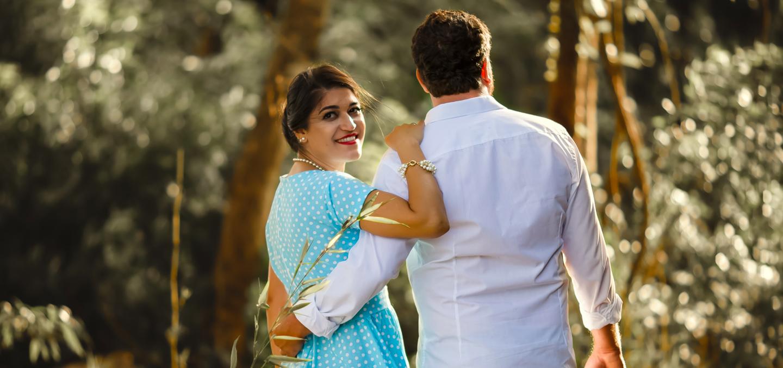 indian married couple wedding