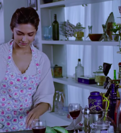 Deepika Padukone start cooking