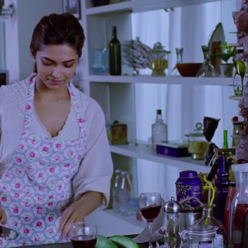 Deepika Padukone start cooking