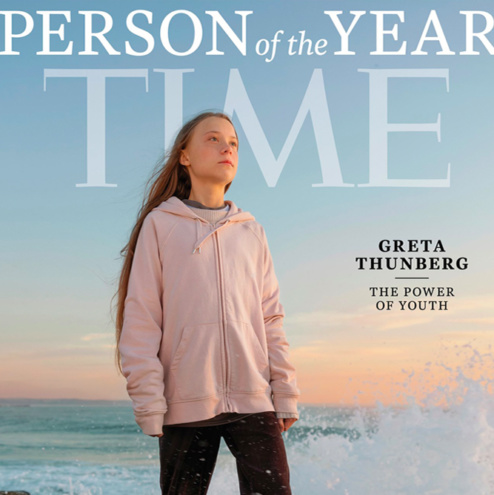 young environmentalists great thunberg time