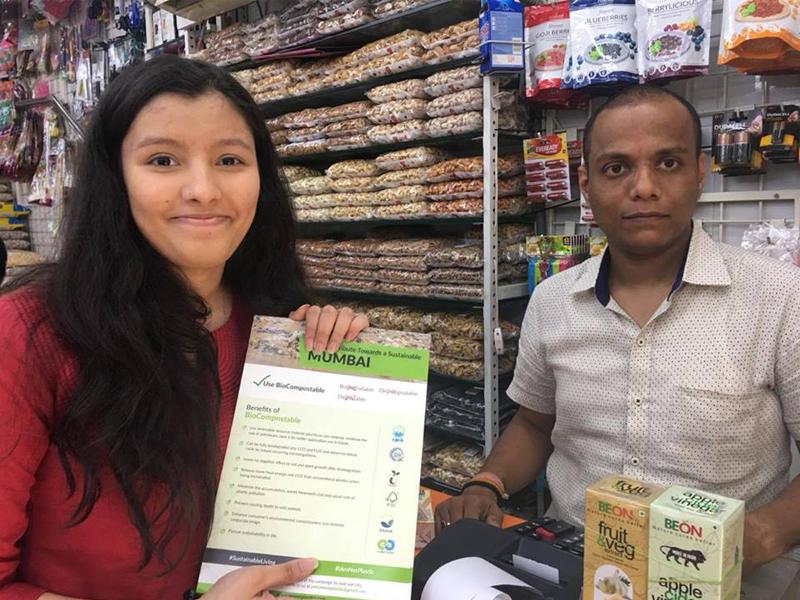 khushi kabra young environmentalists india plastic bioplastic