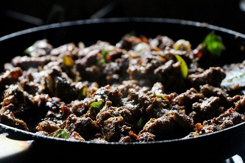 Malayali food pepper chicken