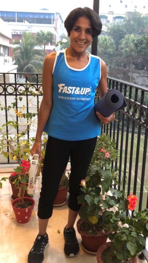 Anjali Saraogi, the marathon runner, started her journey after turning 40