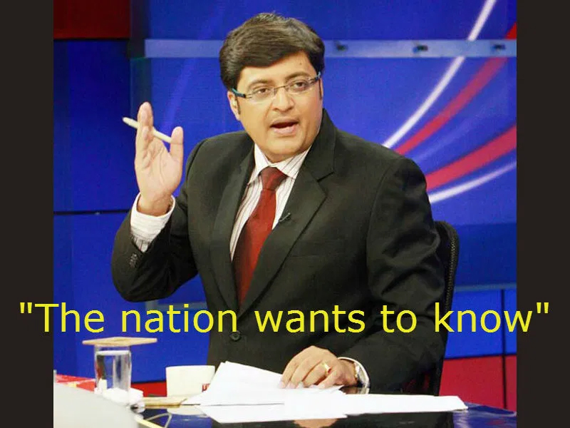 the nation wants to know arnab goswami