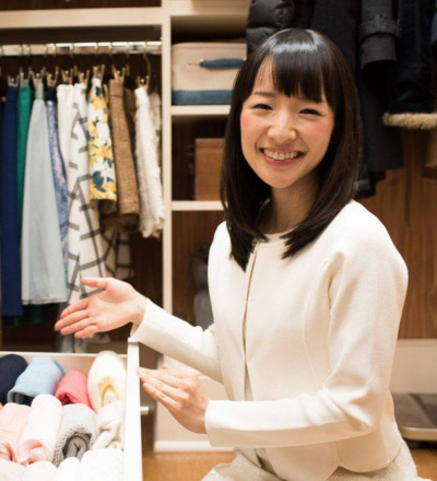 Decluttering your home, the Marie Kondo way