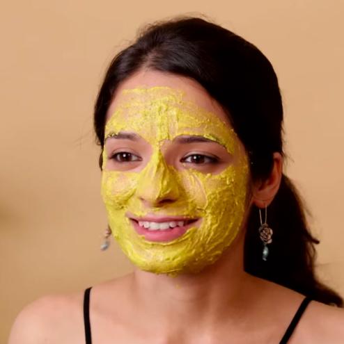 maalvika manoj beauty rituals acne face mask