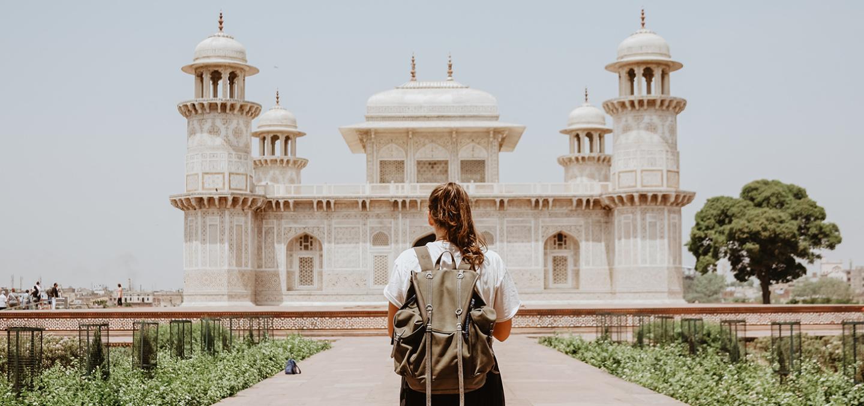 travels across India