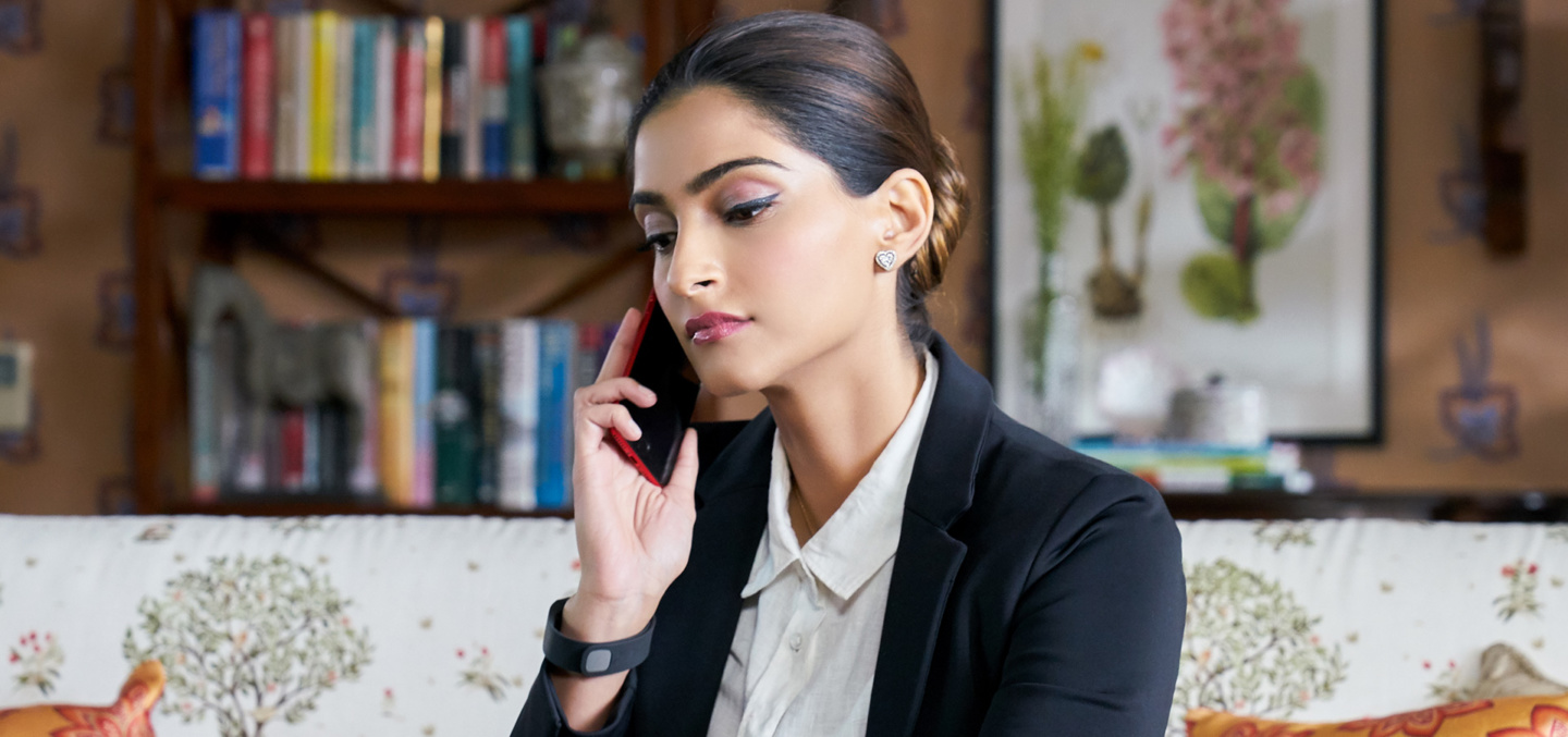 Sonam Kapoor played a financially-independent lawyer who often earned more than the men she met during the arranged marriage process