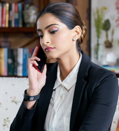 Sonam Kapoor played a financially-independent lawyer who often earned more than the men she met during the arranged marriage process Taken seriously as a woman