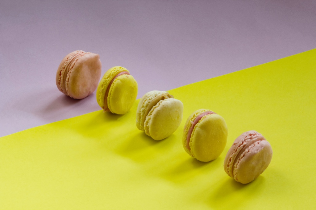 vegan diet macarons