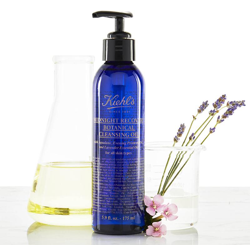 kiehls cleansing oil dermatologist's skincare routine