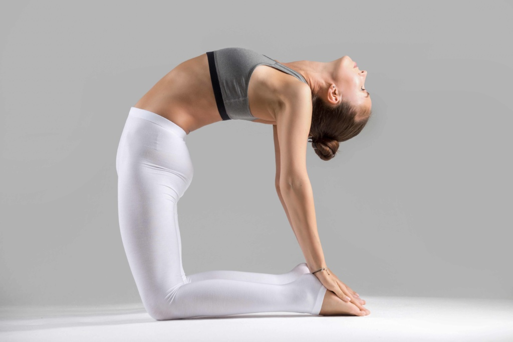 Ustrasana is one of the popular yoga poses for building immunity