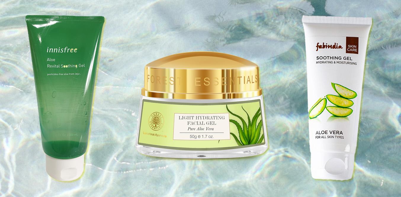 aloe vera india products skin redness and irritation