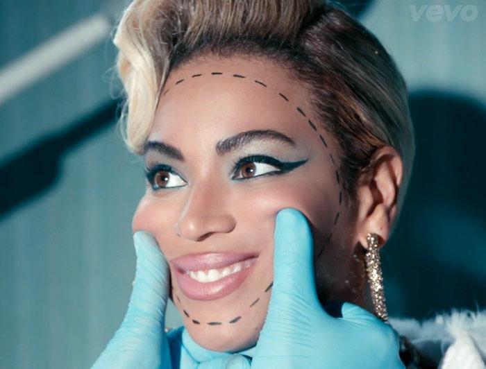 beyonce plastic surgery botox pretty hurts