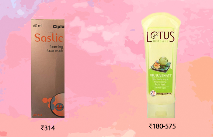 india drugstore skincare products