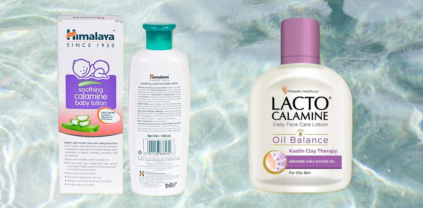 calamine lotion for skin irritation