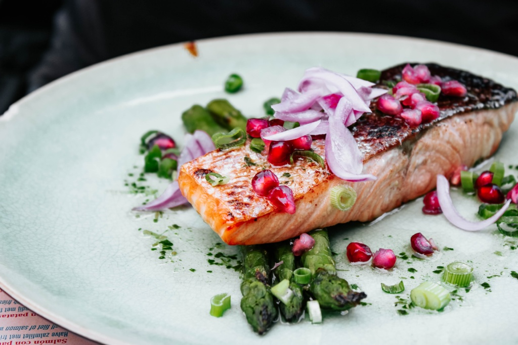 salmon for period cramps
