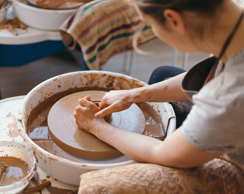 Hobbies for adults pottery