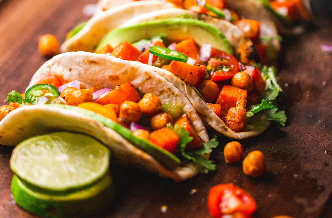 Healthy snack recipes taco