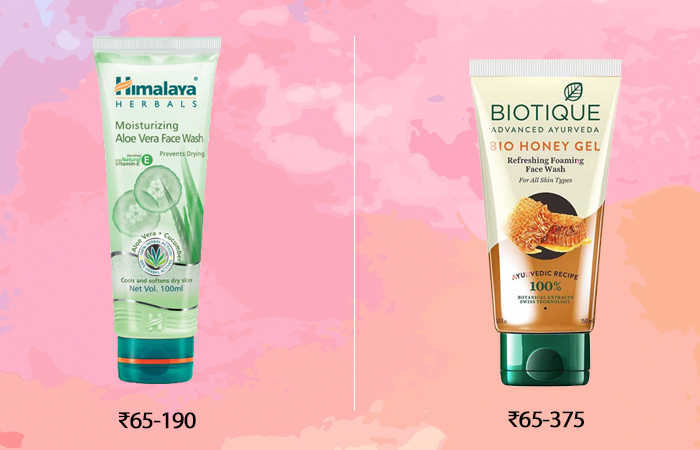 indian drugstore skincare products face wash