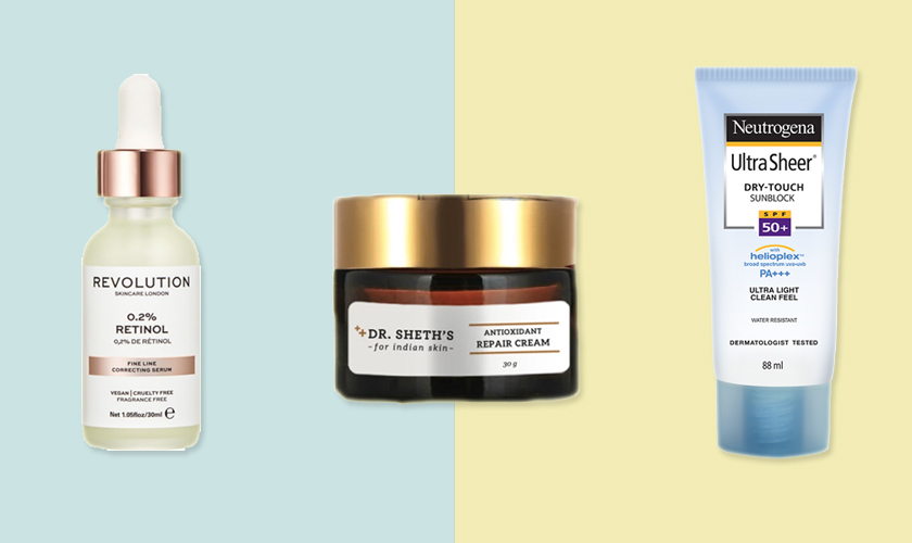 skincare by age products for 30s