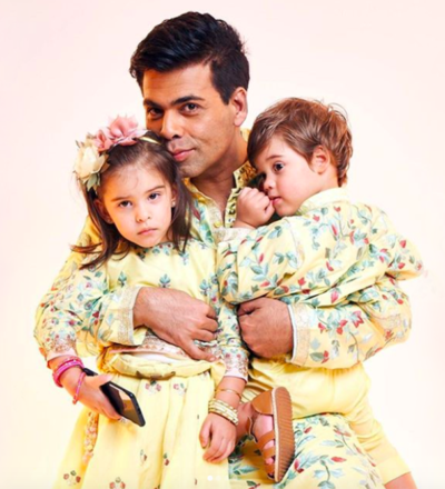 Karan Johar's twins
