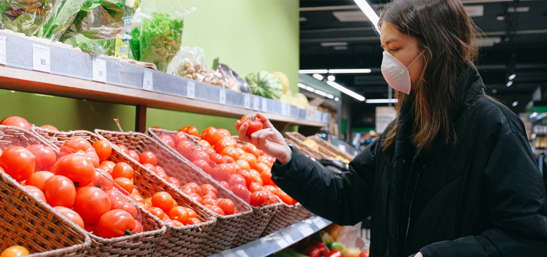 food groceries shopping during coronavirus lockdown food safety