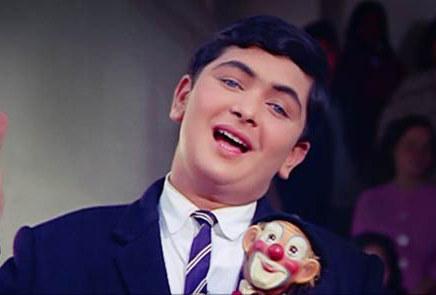 Rishi Kapoor in Mera Naam Joker