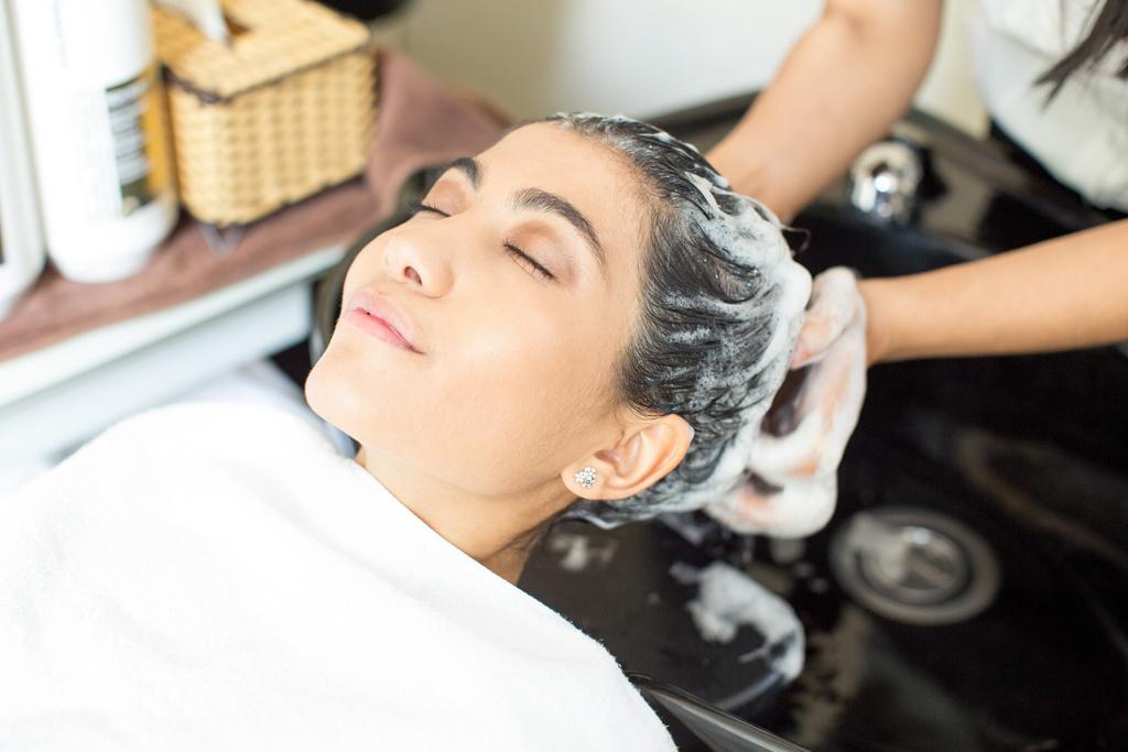 shampoo hair fall