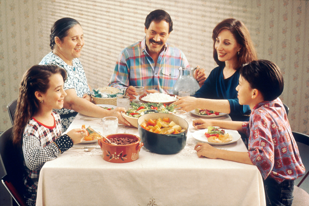 Secrets of a long life family dinner