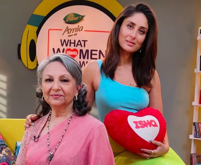 kareen kapoor sharmila tagore mother-in-law tv show
