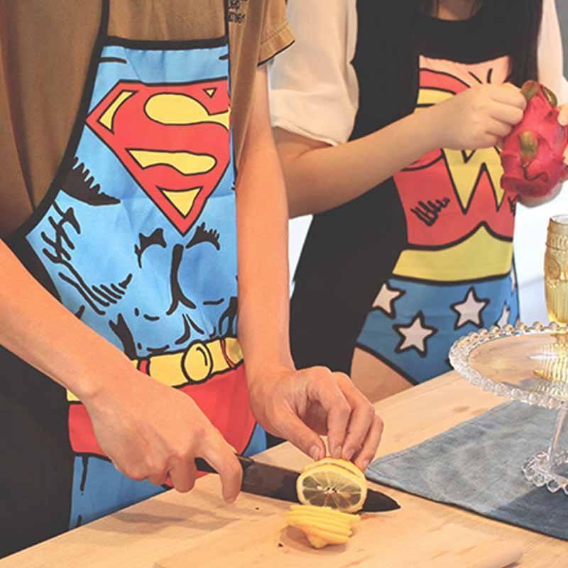 superhero apron superman father's day gift