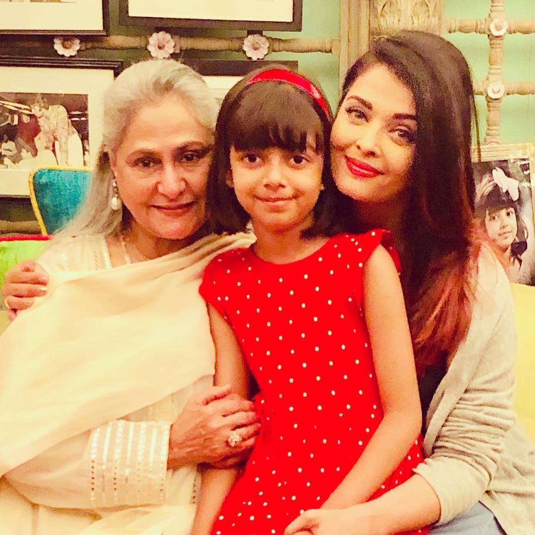 aishwarya rai mother-in-law jaya bachan